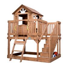 Scenic Heights Cedar Wood Cubby House