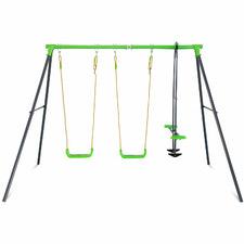 Kids' Hurley 2 Metal Swing Set