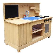 Outdoor Wooden Kitchen Playset