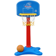 Kids' Buzzer Beater Basketball Ring & Ball Set