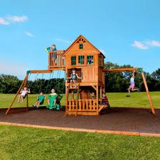 Skyfort II Wooden Play Centre