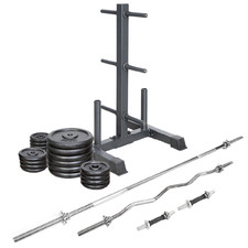 Cast Iron Weight Set with Weight Tree