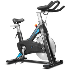 Black Steel Spin Bike