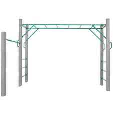 Lifespan Kids 16 Piece Amazon 250cm Monkey Bar Rail Set