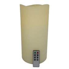 Ivory Safeflame LED Wax Candle Pillar