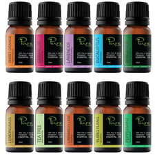10 Piece Perfect Pure 10ml Essential Oil Set