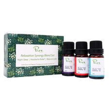3 Piece Pure by Alcyon Relaxation Synergy 10ml Blend Set