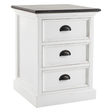 Meharry 3 Drawer Bedside Table