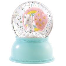 Kids' Unicorn Snow Globe Night Light