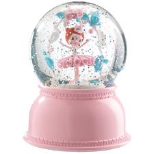 Kids' Ballerina Snow Globe Night Light