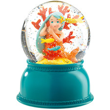 Kids' Mermaid Snow Globe Night Light