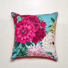 Bella Rosa Teal Cushion Feather Filled