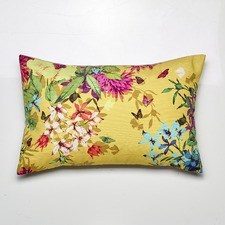 Tropicana Gold Cushion Feather Filled