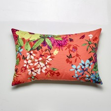Tropicana Tangerine Cushion Feather Filled
