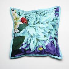 Bella Rosa Black Euro Pillowcase