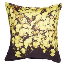 Gold Bloom Euro Pillowcase