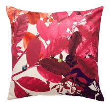 Fuchsia Ghost Velvet Cushion
