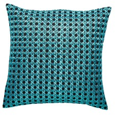 Teal Willow Cushion