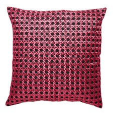 Fuchsia Willow Cushion