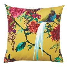 Gold Chintz Velvet Cushion