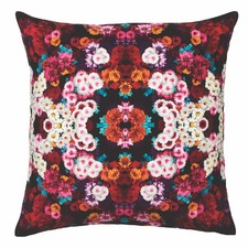 Black Giselle Velvet Cushion