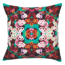 Teal Giselle Velvet Cushion
