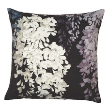 Natural Wisteria Velvet Cushion