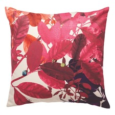 Fuchsia Ghost Velvet Floor Cushion