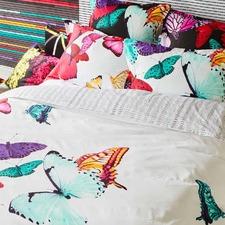Ophelia Cotton Sateen Quilt Cover Set