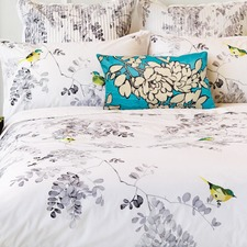 Winter Sketch Cotton Percale Quilt Cover Set