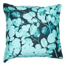 Teal Ashley Cotton Sateen Euro Pillowcase