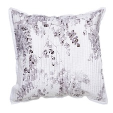 Winter Sketch Cotton Percale Euro Pillowcase