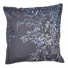 Charcoal Pascale Cotton Euro Pillowcase
