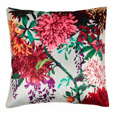 Chintz Garden Square Velvet Cushion