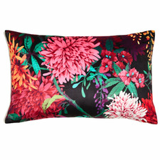 Chintz Garden Rectangular Velvet Cushion