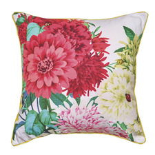 Bella Rosa White Cushion Feather Filled
