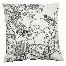 Abigail Linen-Blend Cushion