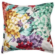 White Eden Cotton Euro Pillowcase