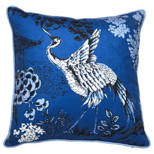 Empress Garden Velvet Cushion