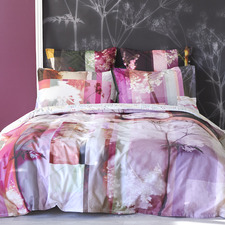 Fuchsia Gaia Cotton Quilt Cover Set