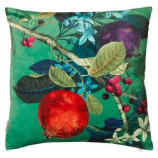 Pomegranate Velvet Cushion