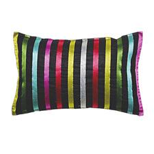 Pencil Stripes Linen-Blend Cushion
