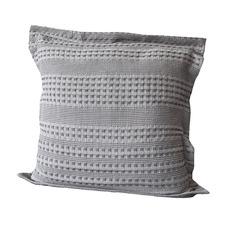 Lush Waffle Cotton European Pillowcase