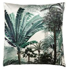 Palm Grove Velvet Floor Cushion