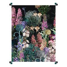 Spring Garden Pure Linen Throw