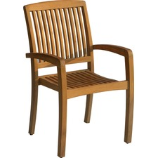 Kuta Teak Stacking Armchairs (Set of 2)