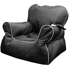 Black Chill Out Beanbag Chair Cover