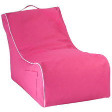 Kids' Pink Coastal Lounge Beanbag Cover