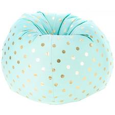Mint Polka Dots Classic Beanbag Cover