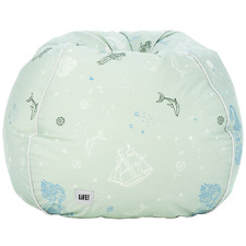 Kids' Sea Of Love Teardrop Beanbag Cover